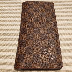 Louis Vuitton Brazza Damier Ebene Wallet